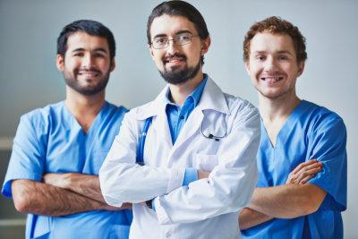 profressional medical health worker smiling